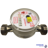 Water meter Lorenz hot surface-mounted Qn 1,5; 130mm, 1 connection thread