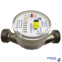 Water meter Lorenz cold surface-mounted Qn 1,5; 130mm, 1 connection thread