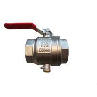 Ball valve according MID 5/4 + direct-measuring sensor-connection piece